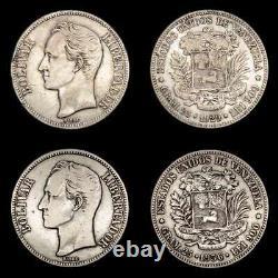 Lucernae Venezuela 5 Bolivares Simon Bolivar Venezuela 1929/1936