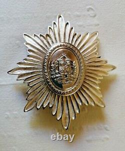 Médaille D'ordre Venezuela Buste De Simon Bolivar Star De La Poitrine Par Ns Meyer Ny Broche
