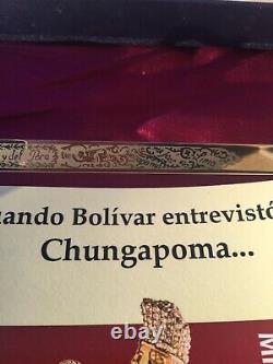 Simon Bolivar (sword/espada) Venezuela Mini Replica Avec Livre Inclus