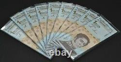 Venezuela 1 000 000 $ Bolivars Ensemble De 10 Nouveaux Billets Unc 2020 1 Million 10 Pcs