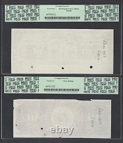 Venezuela 10 Bolivares 1914 Ps146p Face & Back Proof Uncirculated