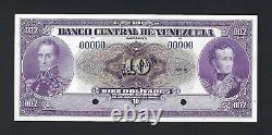 Venezuela 10 Bolivares Eeuu Nd (1945-60) P31vs Echantillon Ongecirculeerd