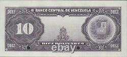 Venezuela 10 Bolivares Nd. P 31s Specimen Uncirculated Banknote Des Années 1940
