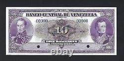Venezuela 10 Bolivares Republica Nd (1945-60) P31s Echantillon Ongecirculeerd