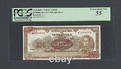 Venezuela 100 Bolivares 23-7-1953 P41s Specimen Tdlr N002 About Uncirculated