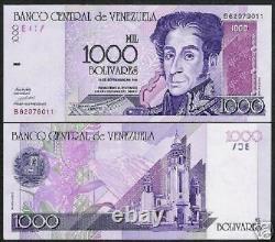 Venezuela 1000 Bolivars P79 1998 Bundle Cheval Bolivar Unc Devise Note 100 Bil
