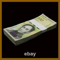 Venezuela 100000 (100 000) Bolivares Fuerte X 100 Pcs Bundle, 2017 P-100 Utilisé