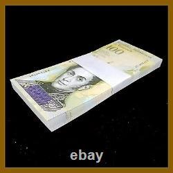 Venezuela 100000 (100000) Bolivares X 100 Pcs Bundle, 2017 Unc P-100