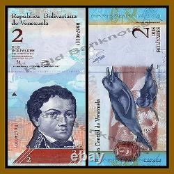 Venezuela 2 100 Bolivares (6 Pcs Set) X 25 Lots, 2007/2015 P-(88-93) Unc