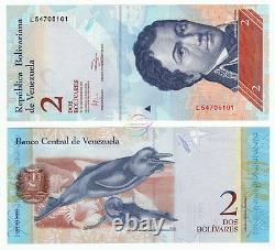 Venezuela 2 Bolivares X 1000 Pcs 2012 P-88 Brique Unc Fdc