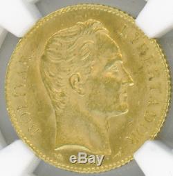 Venezuela 20 Bolivares 1911 Bolivar Ngc-ms63 Choix De L'or Brillant Ongecirculeerd