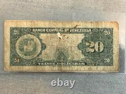 Venezuela 20 Bolivares 22 Fév 1945 P 32 B6