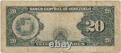 Venezuela, 20 Bolivares 23-7-1942 A7 Fine Condition
