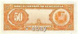 Venezuela 50 Bolivares Nd. P 33s Specimen Uncirculated Banknote Des Années 1940