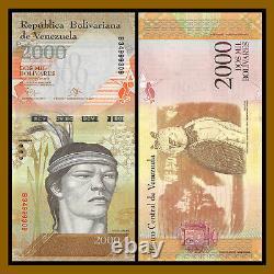 Venezuela 500 100 000 Bolivares (7 Pcs Set) X 50 Pcs Bundle, 2016-2017 Unc