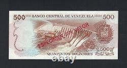 Venezuela 500 Bolivares Nd (1971-72) Spécimen P56s Non Circulé