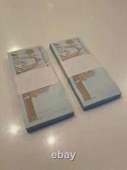 Venezuela Bénévoles 200 Pcs 2 Bundle 1'000.000 - Millions Nouveau Millon