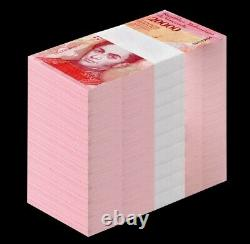 Venezuela Billets De Banque 20000 Bolivares 2018 P-nouveau Unc Brick 1000 Pcs Unc