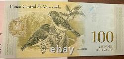 Venezuela Bolivares Devise Lot 5 Notes Mustras -specimenes Non Circulé