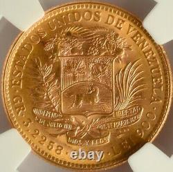 Venezuela Or 10 Bolivares 1930 Ngc Ms 65 Unc
