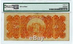 Venezuela. P-s312. 50 Bolivars. 31/01/1936. Ch-vf + Pmg 25 Vf