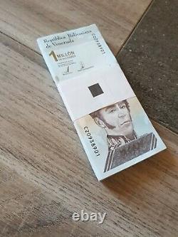 Venezuela Set (50pcs) 1 Million De Bolivars Note Unc 2021 Choisir Nouveau 1/2 Bundle